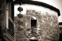 Lanterna do chinês tradicional foto de stock