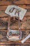 Lanterna do dia Olden e molde de marcação do gado Imagens de Stock