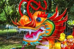 Lanterna do dragão Imagem de Stock Royalty Free