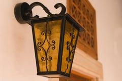 lanterna do Feito-ferro Imagem de Stock
