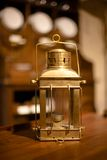 Lanterna do metal do vintage Foto de Stock