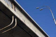 Lanterna e ponte Fotografia Stock