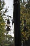 Lanterna ed il suo specchio Fotografia Stock Libera da Diritti