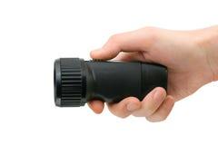 Lanterna elétrica à disposicão Foto de Stock Royalty Free