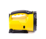 Lanterna elétrica amarela Imagem de Stock Royalty Free