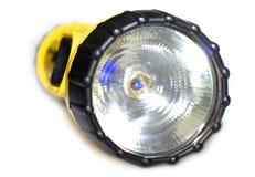 Lanterna elétrica amarela e preta Foto de Stock Royalty Free