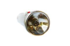 Lanterna elétrica de prata Imagens de Stock