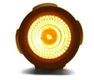 Lanterna elétrica iluminada Fotos de Stock Royalty Free