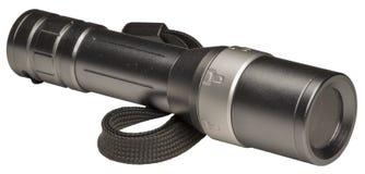 Lanterna elétrica metálica Foto de Stock