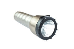 Lanterna elétrica plástica Foto de Stock