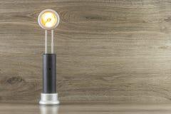 Lanterna elétrica telescópica fotos de stock royalty free