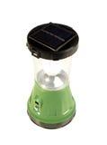 Lanterna elétrica verde do diodo emissor de luz Fotos de Stock Royalty Free