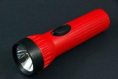 Lanterna elétrica vermelha genérica Imagens de Stock Royalty Free