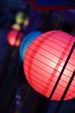 Lanterna esférica exterior Imagens de Stock Royalty Free