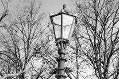 Lanterna Foto in bianco e nero di Pechino, Cina immagine stock