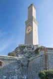 Lanterna fyr, Genua - Italien Royaltyfria Bilder