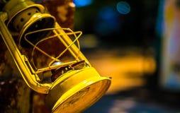 Lanterna gialla Fotografie Stock Libere da Diritti