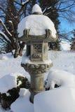 Lanterna giapponese Immagine Stock