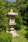 Lanterna giapponese del giardino Fotografie Stock