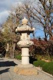 Lanterna giapponese di pietra Immagini Stock Libere da Diritti