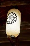 Lanterna giapponese o materiale di illuminazione tradizionale della lampada di Todai Fotografia Stock Libera da Diritti