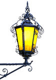 Lanterna isolata dell'annata. Immagini Stock