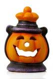 Lanterna isolata di Halloween Fotografia Stock Libera da Diritti