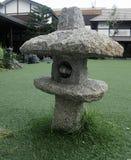 Lanterna japonesa de pedra do jardim Foto de Stock Royalty Free