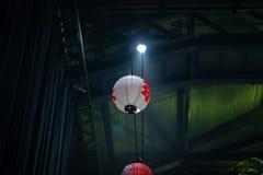 Lanterna japonesa do festival de Matsuri foto de stock royalty free