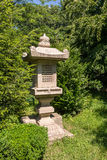 Lanterna japonesa do jardim Fotos de Stock