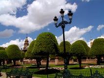 Lanterna messicana della plaza Fotografia Stock