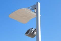 Lanterna moderna di illuminazione della via Fotografia Stock