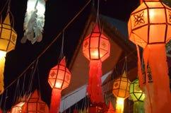 Lanterna na cultura tailandesa foto de stock royalty free