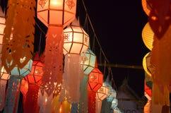 Lanterna na cultura tailandesa fotografia de stock royalty free