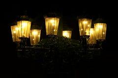 Lanterna na noite Imagens de Stock