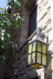 A lanterna na parede Imagem de Stock Royalty Free
