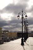 Lanterna na ponte Imagens de Stock