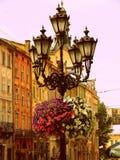 Lanterna nel centro urbano fotografia stock