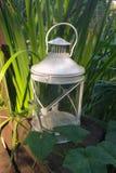 Lanterna nel giardino Immagini Stock
