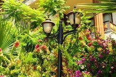 Lanterna no jardim Fotos de Stock
