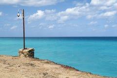 Lanterna no oceano Fotografia de Stock