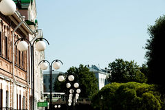 A lanterna no parque Imagem de Stock Royalty Free
