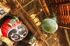 Lanterna no templo de Naritasan Shinshoji em Narita, Japão foto de stock royalty free
