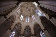 Lanterna octogonal da capela do túmulo de John I-Batalha, Imagem de Stock Royalty Free