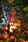 Lanterna originale in via della città di Kemer, Adalia, Turchia fotografie stock libere da diritti