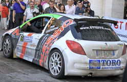 Lanterna Rally Race 2010 Stock Image