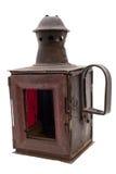 A lanterna retro da estrada de ferro Imagens de Stock Royalty Free