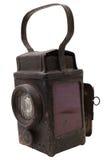 A lanterna retro da estrada de ferro Foto de Stock