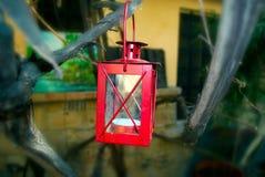 Lanterna rossa Fotografie Stock