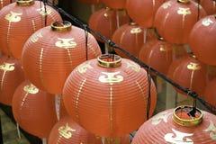 Lanterna rossa Immagine Stock